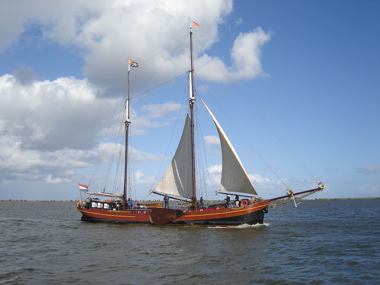 Sailing to Sustainability